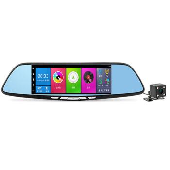 凌度HS 930 Aハイビジョン夜視ドライブレコーダーインテリジェント音声雲鏡ナビゲーションダブルレンズ4 Gネットワークバック映像駐車監視HS 930 A+セットしない+32 GカードHS 930 A+パッケージインストール+32 Gカードを送る+32 Gカードを送る