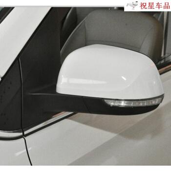 五菱宏光S 1バックミラーの元工場の反射鏡の外視鏡はいつも宏光S 1の手で電動観覧した後鏡全体の後視鏡の外側に漆の運転手を付けて左手動-キャンデーホワイト
