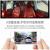 e行V 20パノラマドライブレコーダーのハイビジョン無光夜間テレビの二重レンズ隠し式車載カメラ無線wifi携帯電話の接続自動車は24時間駐車してパノラマモニタwifi版+16 Gカードを監視します。
