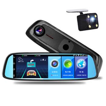 道探K 820専门车専用バークラ8 inチ4 G音响制御Android naviゲームショウシンドローンADASドライカーダーの前后にBluetooth电子犬4 G云镜版+32 Gメモカドをダブドと记录します。
