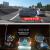 【超値秒殺】歌威特後視鏡デュアルドライブレコーダー高精細電子犬一体機1080 P夜視広角帯バック映像2.8インチ単レンズ+電子犬版標準装備+32ギガ高速カード